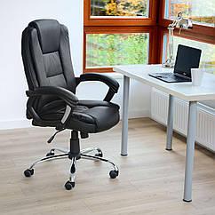 Офисное кресло Vecotti вращающийся экокожа Черный
