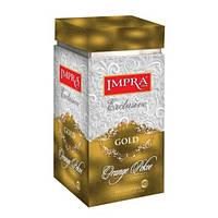 Чай черный Impra Exclusive Gold Orange Pekoe крупнолистовой ж/б 200 г Шри-Ланка