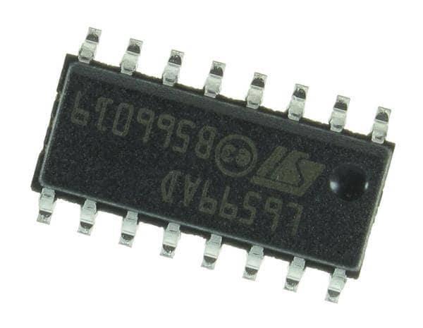 Микросхема L6599AD L6599D  SOP-16, фото 2