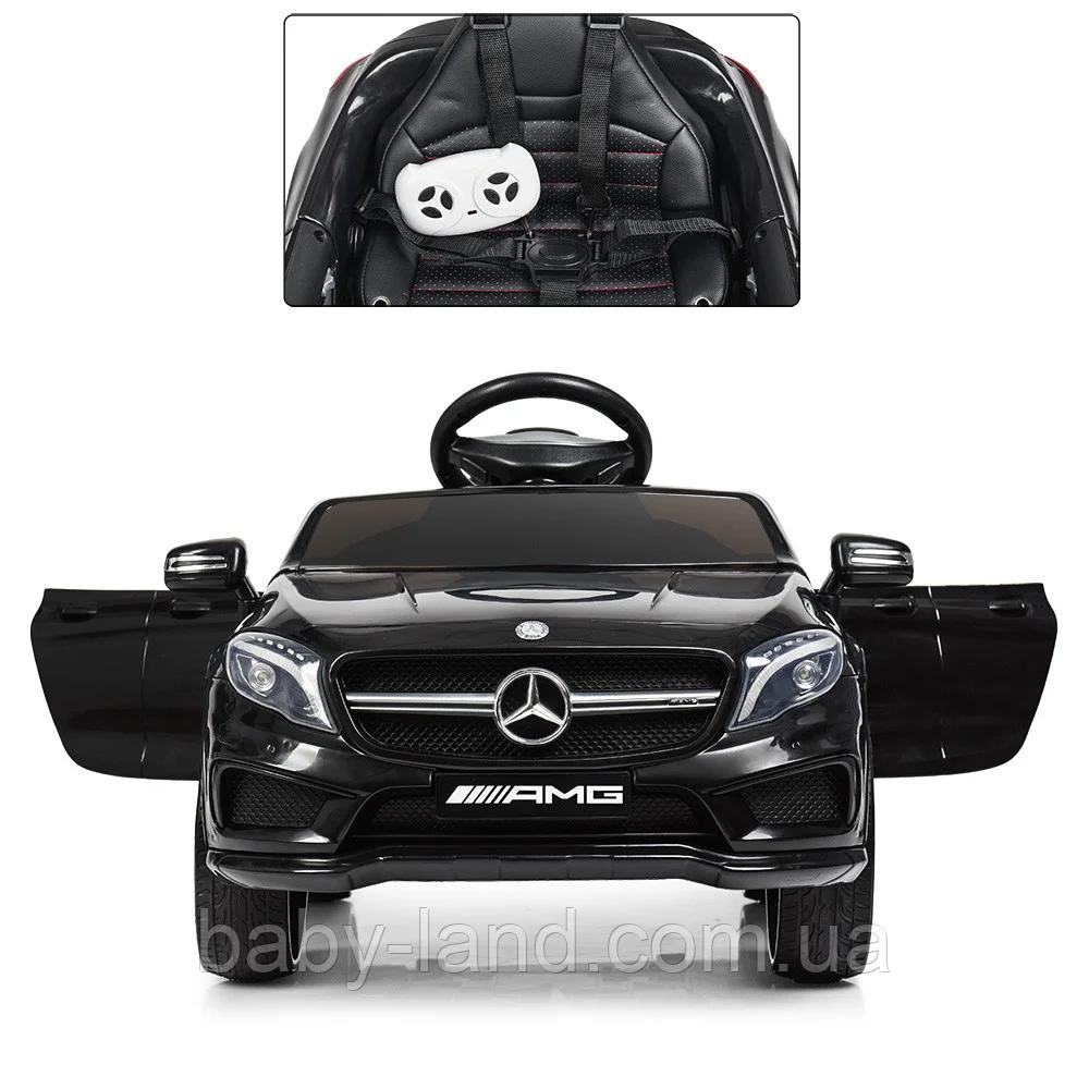 Электромобиль детский Mercedes EVA колеса M 3995EBLR-2 черный