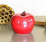 Декоративное яблоко керамика красный h8см Гранд Презент 1014898-2К, фото 2