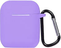 Кейс TOTO 2nd Generation Silicone Case AirPods Violet 101688, КОД: 1309812