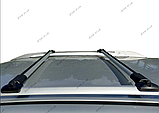 """Багажник на рейлінги """"Стелс""""  алюміній. Установка між рейлінгами, 130см + замки, фото 2"""