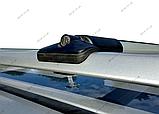 """Багажник на рейлінги """"Стелс""""  алюміній. Установка між рейлінгами, 130см + замки, фото 3"""