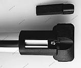 """Багажник на рейлінги """"Стелс""""  алюміній. Установка між рейлінгами, 130см + замки, фото 6"""