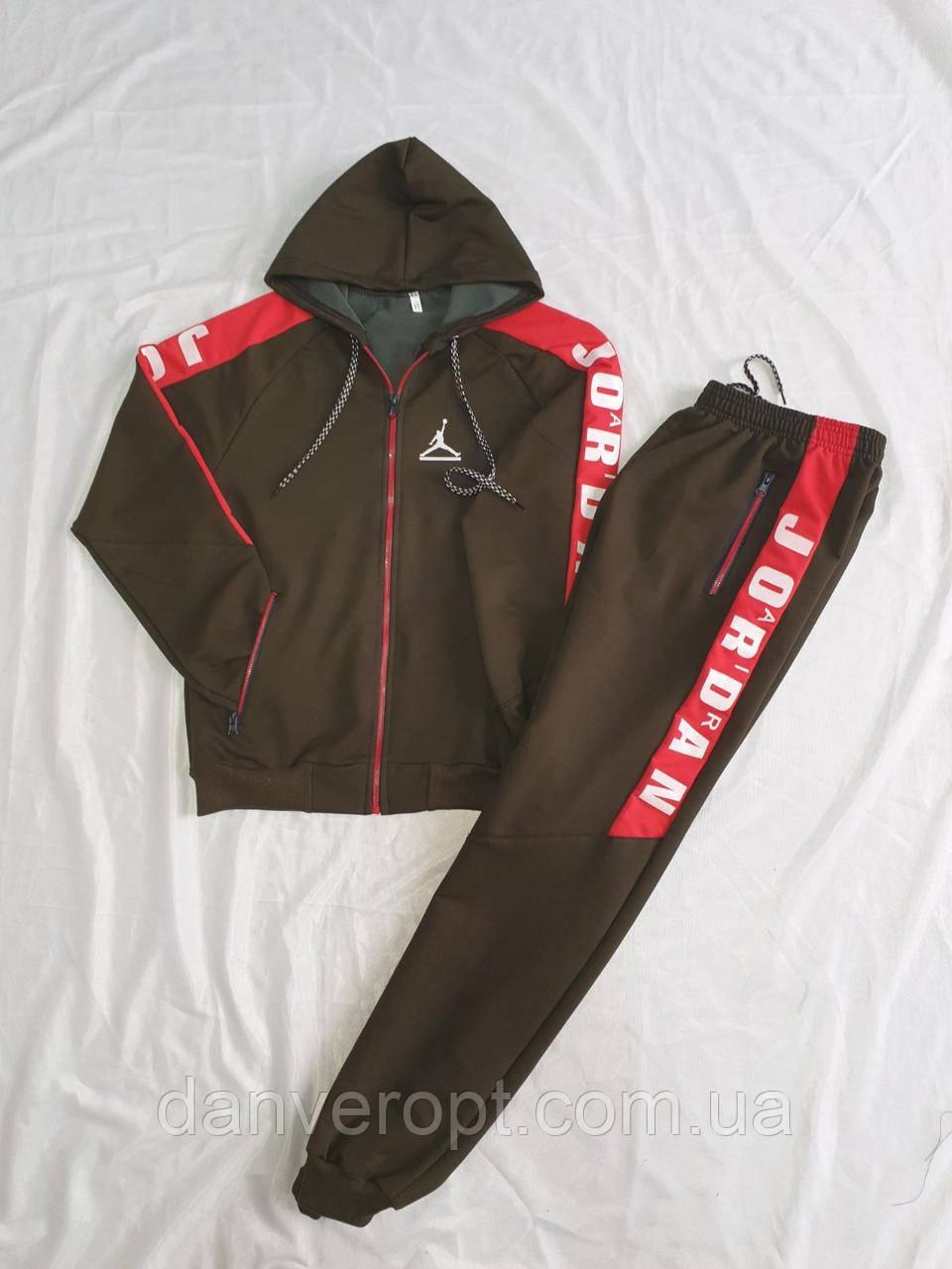 Спортивный костюм юниор стильный JORDAN на мальчика 10-15 лет купить оптом со склада 7км Одесса