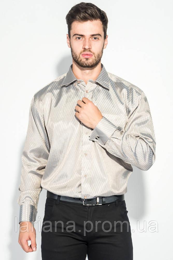 Рубашка 50PD709-8 цвет Бежево-серый