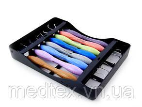 LM-ARTE, LM-ERGOSENSE набор реставрационных штопфер, гладилок с кассетой на 8 инструментов (Оригинал)