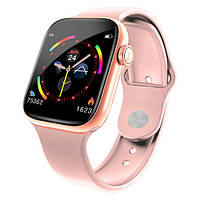 Фитнес-браслет smart band W4, HD full tuch screen, IP67 pink