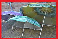 Зонт 2 метра наклон с напылением, фото 1