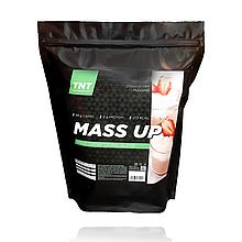 Mass Up гейнер Польша с повышенным содержанием углеводов, 2,5 кг вкус Клубничный пудинг