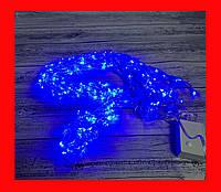 Гірлянда Нитка LED L400 блакитна