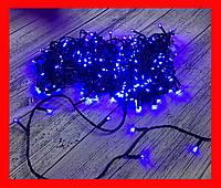 Новорічна гірлянда Нитка LED L300 синя 22м