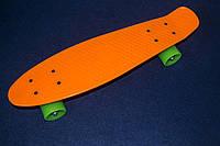 Пенни борд ОРАНЖЕВЫЙ penny board 21, фото 1