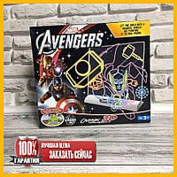 3D доска для рисования Magic Drawing Board  Avengers 0814