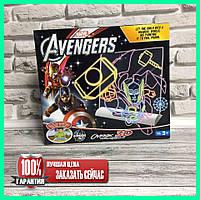 Для рисования 3D доска Avengers 0814