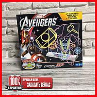 Доска 3D для рисования Magic Drawing Board Avengers 0814