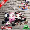 Роликовые коньки Feitelai sports 210-M S (30-33), M (34-37), L (38-41) (синий,розовый,красный)