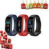 Фитнес браслет Xiaomi Mi Band 3 Экран Цветной Умные часы (Реплика)