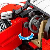 701503 Sembo Block Jaguar: MINI Sports Car, фото 4