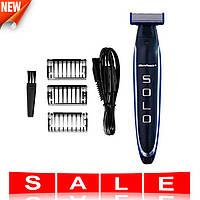 Тример Micro Touch Solo | машинка для стрижки бороди 3 в 1