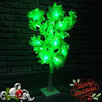 Декоративное светящееся дерево (зеленное), фото 1