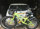 Кріплення для перевезення 2 велосипедів. На фаркоп., фото 6