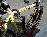 Кріплення для перевезення 2 велосипедів. На фаркоп., фото 8