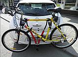 Кріплення для перевезення 2 велосипедів. На фаркоп., фото 5