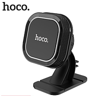 Автомобильный магнитный держатель в автомобиль для мобильного телефона на торпеду Hoco CA53 Black, фото 1