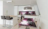Наклейка на стол Zatarga «Лодки» 600х1200мм для домов, квартир, столов, кофейн, кафе