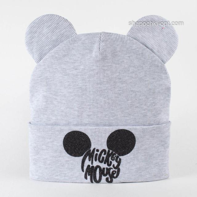 Трикотажная шапка детская