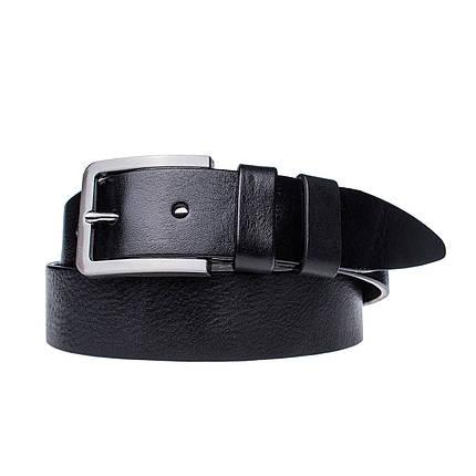 Мужской кожаный ремень JK Черный (MC402010125), фото 2