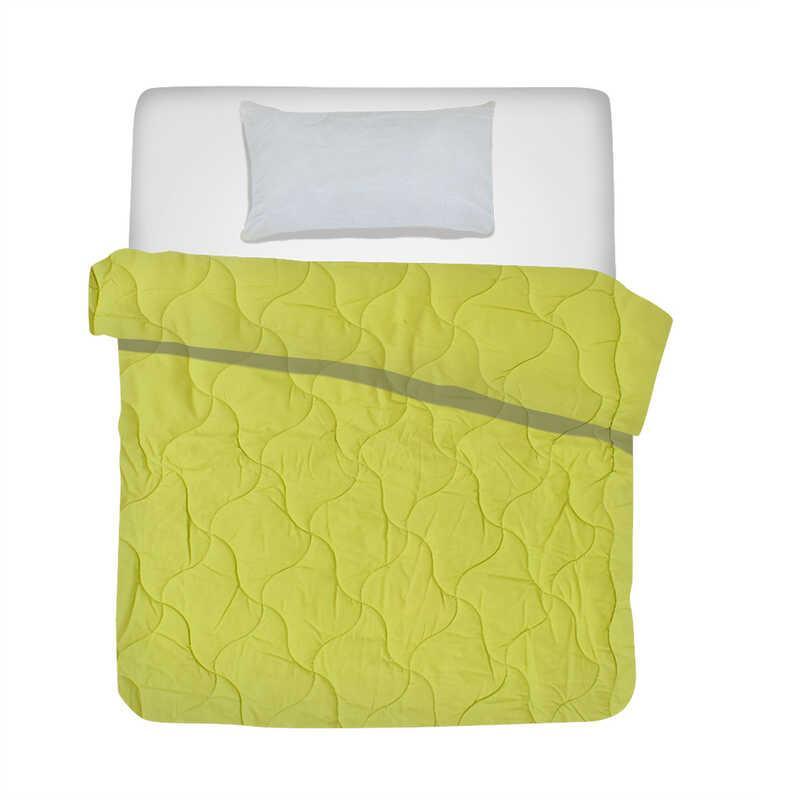 Гр Комплект шерсть /одеяло + подушка 110*140 см./ - цвет салатовый (1) ТМ Алекс