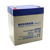 Акумулятор 5Ah 12v Bossman Profi 6FM5