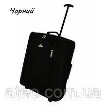 Сумка-рюкзак на колесах(55см*40см*20см) чорний