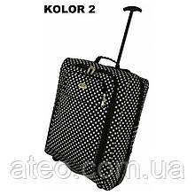 Сумка-рюкзак на колесах(55см*40см*20см) колір 2