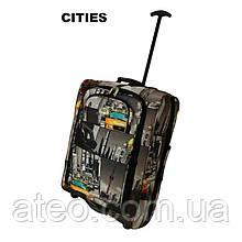 Сумка-рюкзак на колесах(55см*40см*20см) сіті