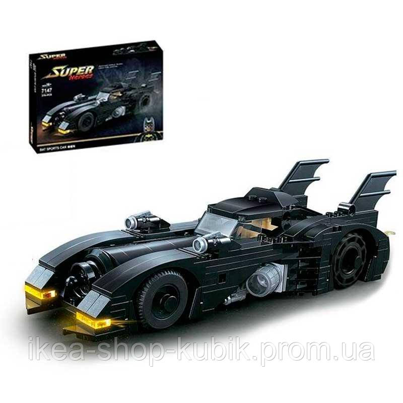 Конструктор QIYE 7147 Batmobile 378 деталей