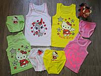 Детская майка с трусами девочке хлопок 100% , качественное детское белье и детские пижамы всегда в наличии