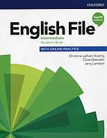 English File 4th (fourth) edition Intermediate Student's Book учебник