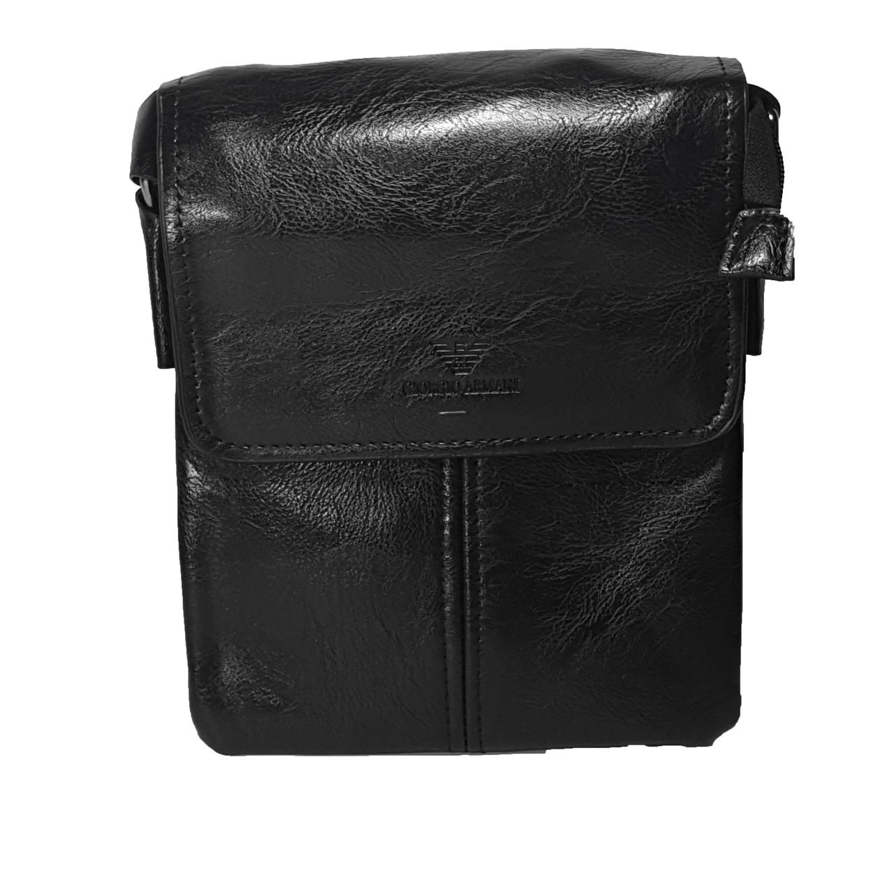 Многосекционная сумка с клапаном Giorgio Armani