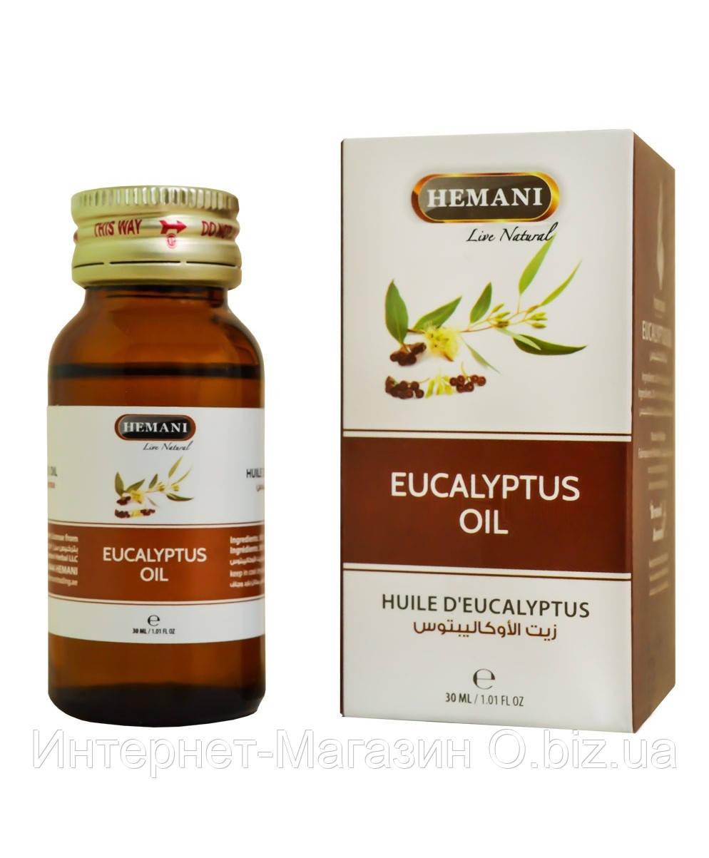 Масло эвкалипт Hemani Eucaliptus Оil, 30 мл. Пакистан