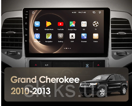 Junsun 4G Android магнитола для Jeep Grand Cherokee WK2 2010-2013