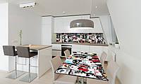 Наклейка на стол Zatarga «Fashion» 650х1200мм для домов, квартир, столов, кофейн, кафе