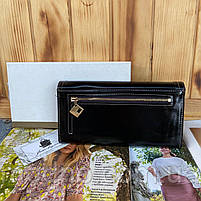 Женский кожаный кошелёк на кнопке JCCS, фото 5