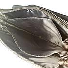 Багатосекційна сумка з шкіряним клапаном, фото 3
