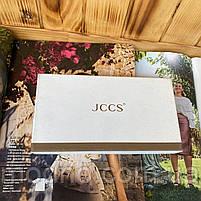 Женский кожаный кошелёк на кнопке JCCS, фото 9