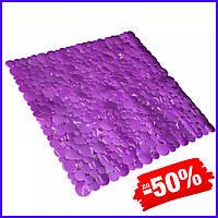 Коврик Bathlux Flor de clasico 40265 антискользящий резиновый на пол в ванную и душевую кабину 53х53 см