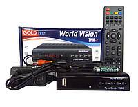 Спутниковый + Эфирный ресивер тюнер World Vision Foros Combo.+Прошивка + WI-FI модуль